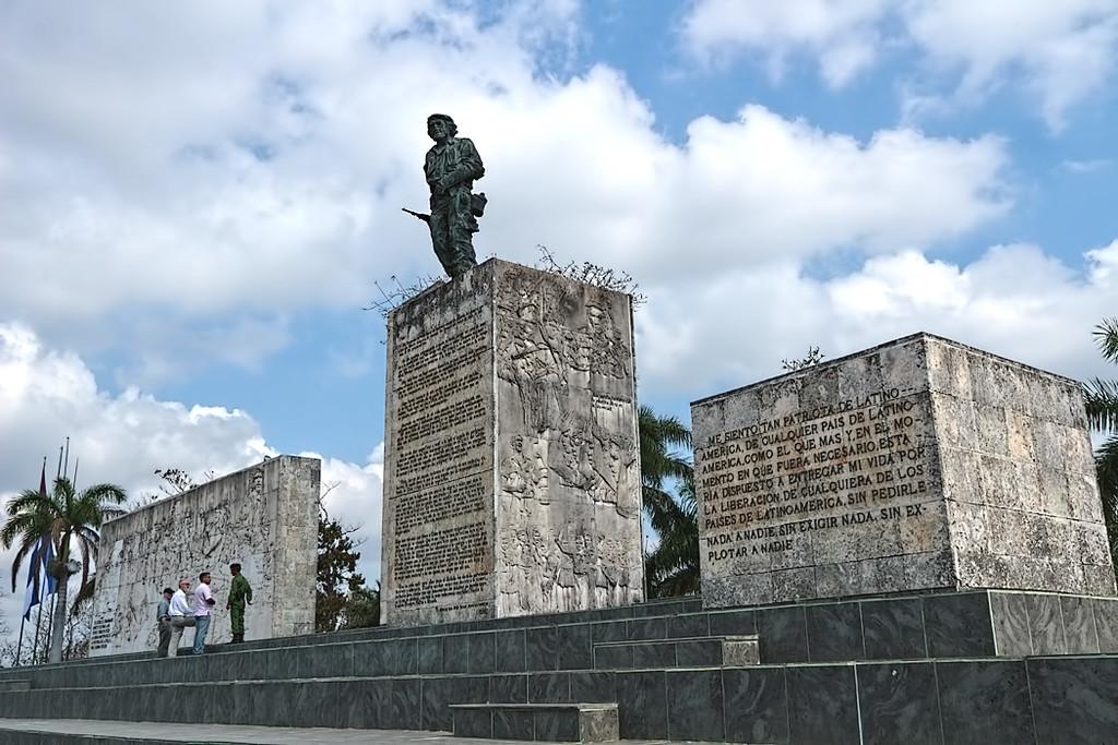 Revolution Plaza in Santa Clara, Cuba, home to Che Guevarra memorial and mausoleum