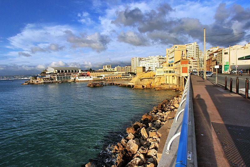 Walking along the coast, Marseille, France