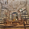 Tomb of the Lord of Sipan in Chiclayo, Peru contains reproductions of riches that rival those of King Tut