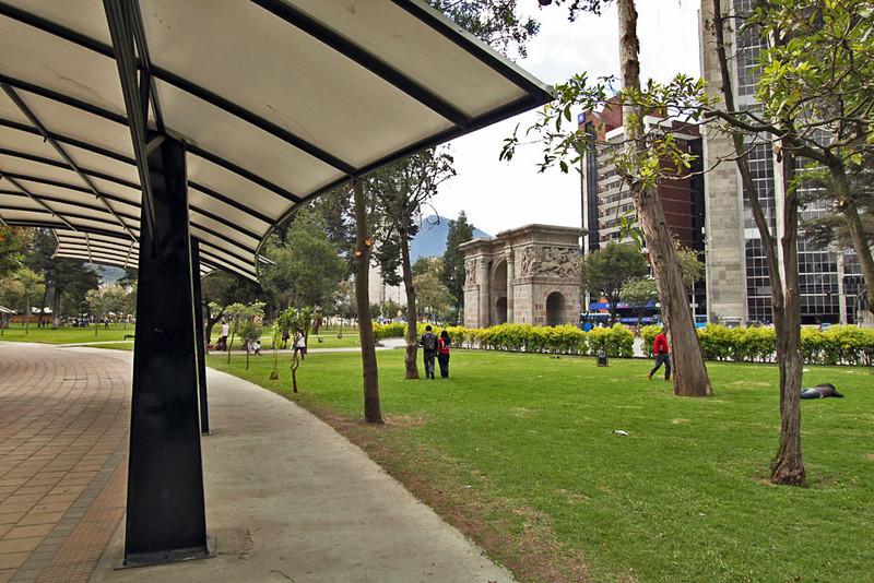 El Ejido Park in central Quito