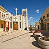 Pretty square in the center of Pozzallo, Sicily, leads to the seafront and beaches, four of which have received the prestigious Blue Flag, awarded to the cleanest and the best equipped beaches in Italy.