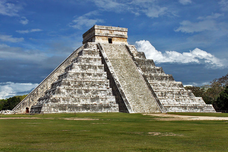 Perhaps Mexico's most famous Mayan ruin, Chichen Itza, in the central Yucatan peninsula