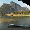 View from the Pak Ou Caves, near Luang Prabang, Laos