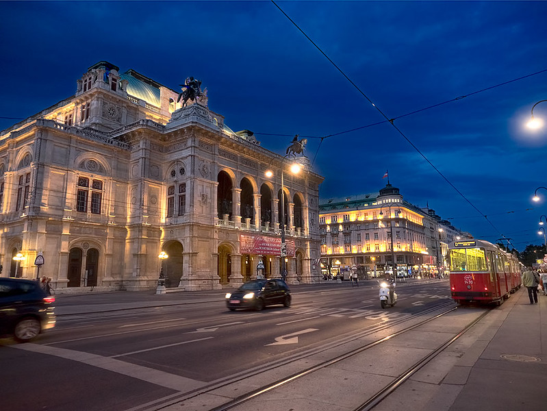 Vienna State Opera, perhaps the most iconic building in the Austrian capital