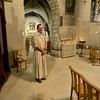 Monk at Chapel of the Grey Penitents in Avignon, France