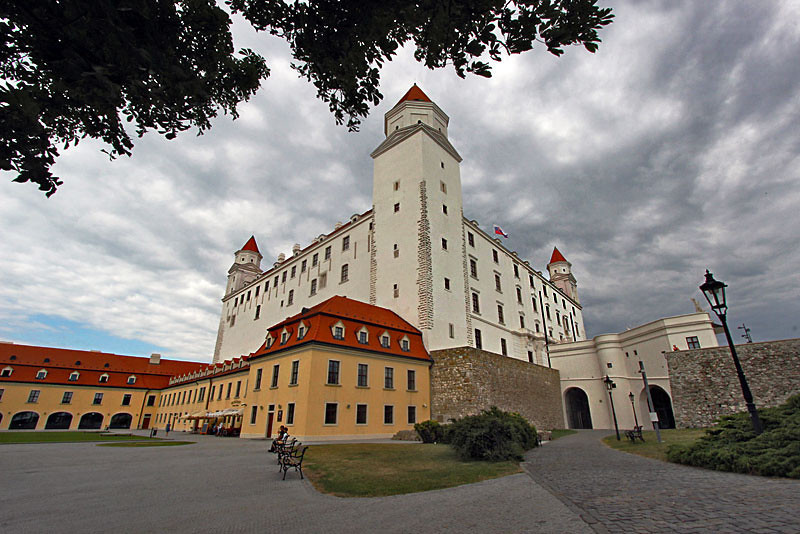 Newly renovated Bratislava Castle is the gem of the Slovakian capital