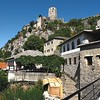 The old market town of Pocitelj in southwestern Bosnia-Herzegovina