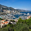 Port Hercule in Monte Carlo, Monaco is a deep-water port that has been in use since ancient times
