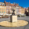 Main Square in the Warsaw Old Town, which was totally recreated after World War Two