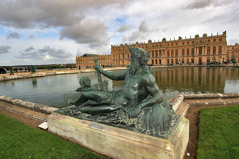 Versailles Palace, a short train ride from Paris, France