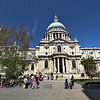 St. Paul's Cathedral sits atop Ludgate Hill, the highest spot in London