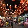 Petaling Street in the Chinatown area of Kuala Lumpur, Malaysia