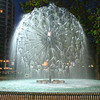 El Alamein Fountain is centerpiece in Kings Cross neighborhood in Sydney, Australia