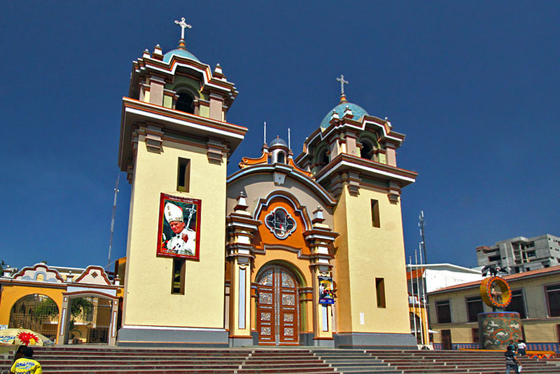 Photo Tumbes Peru Cathedral