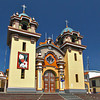 Pretty little cathedral in Tumbes, Peru, near the border with Ecuador