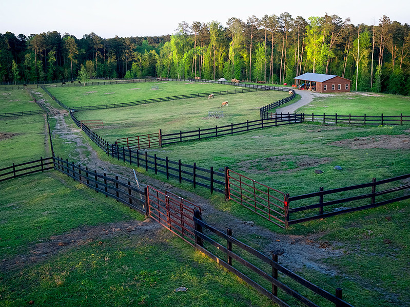 Pine Knoll Farms in Columbia County, Georgia, is a popular venue for weddings and special events