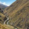 Zigzag tracks are the only way the Nariz del Diablo train can make the steep grade