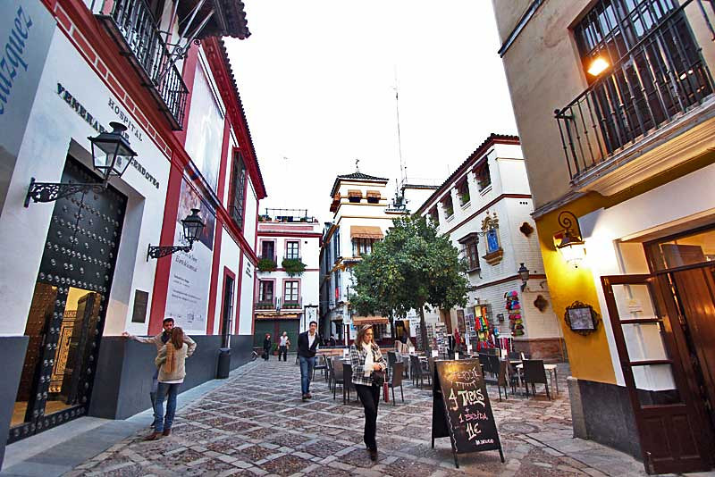 Santa Cruz, the old Jewish neighborhood in Seville, Spain