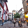 Santa Cruz, the old Jewish neighborhood in Seville, Spain