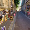 Posters of performances are plastered all over town during the July Theater Festival in Avignon, France