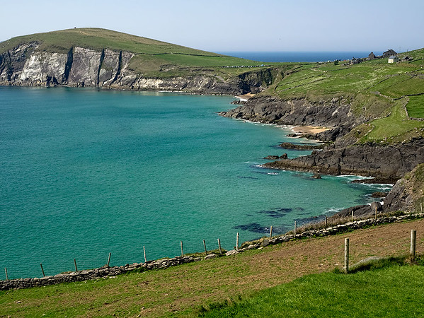 Coumeenoole Bay and Dunmore Head on the Dingle Peninsula, Ireland