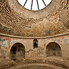After using the hot and warm baths, bathers finished with a dip in the cold pool in this Frigidarium at the Stabian Baths in Pompeii.