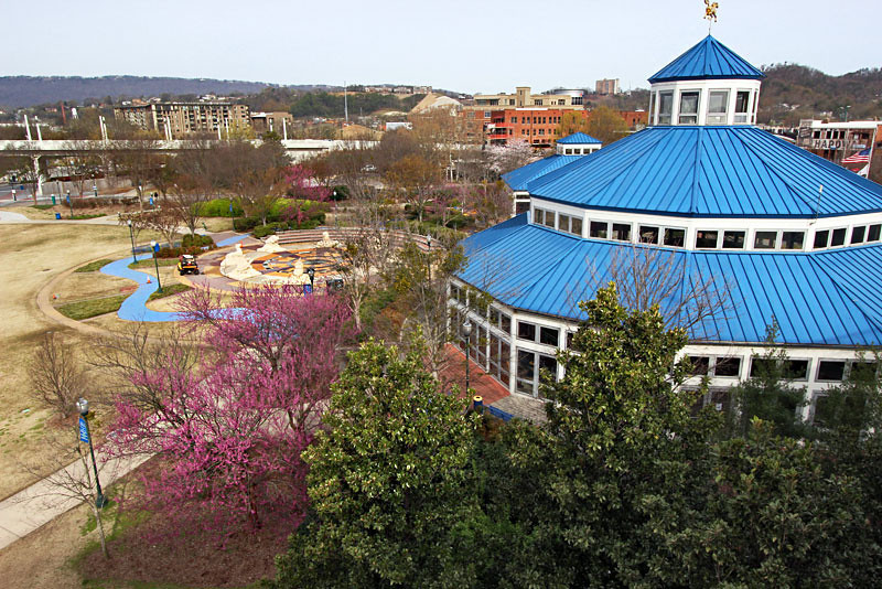 Chattanooga's Coolidge Park on the North Shore