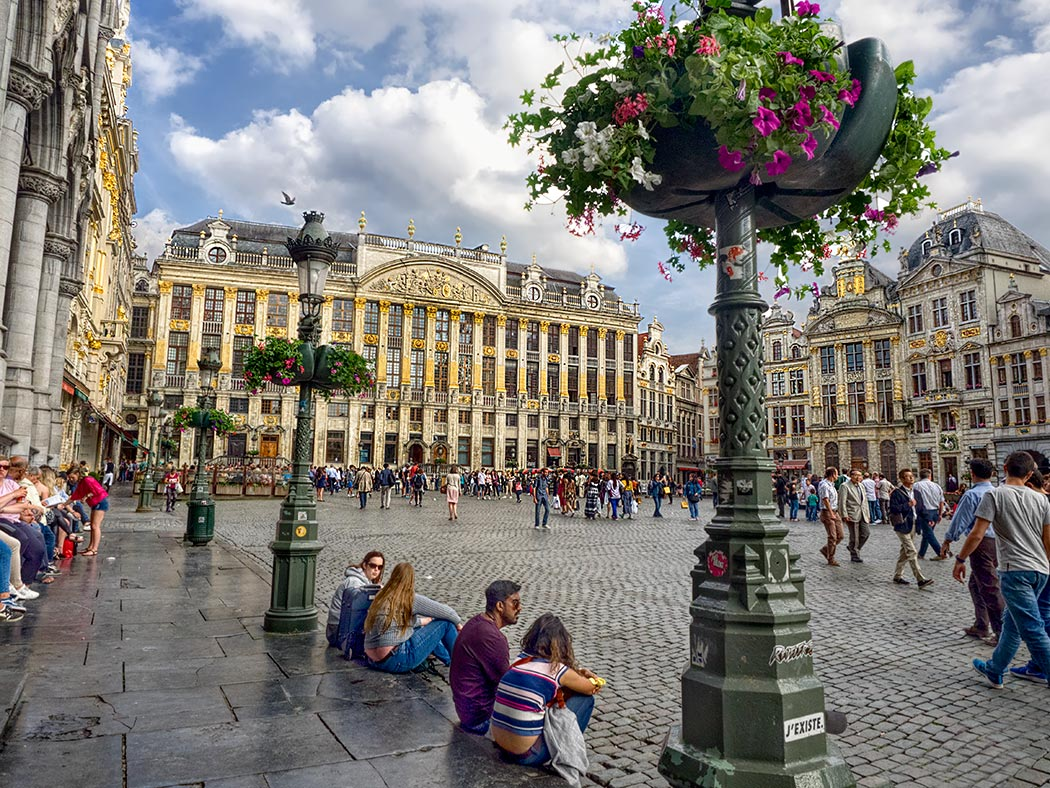 The Grand Place in Brussels, Belgium, is the heart of the city