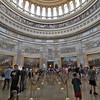 Inside the Capitol Rotunda in Washington, DC