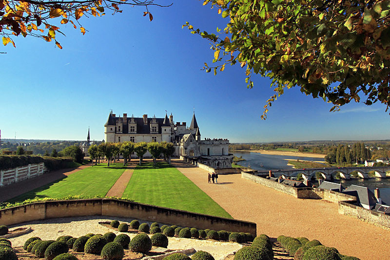 Amboise Chateau, Loire Valley, France