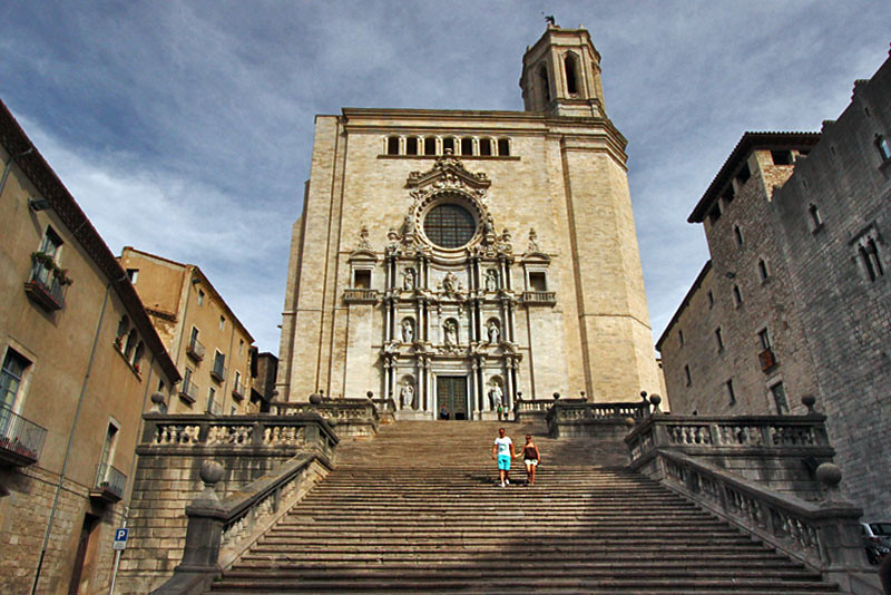 Cathedral of Santa Maria, Girona, Spain