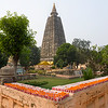 Mahabodhi Temple in Bodh Gaya, is the most important Buddhist pilgrimage site in India