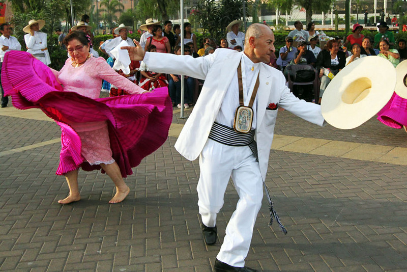Traditional dances of the coastal area of Peru performed in Lima