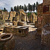 Large Taberna at Herculaneum is an ancient version of our fast food restaurants