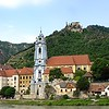The town of Durnstein in Lower Austria was named for the Medieval stone castle, now in ruins, which overlooks it