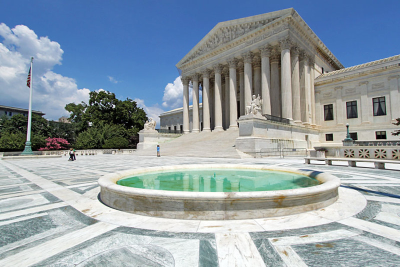 Law of the land, the U.S. Supreme Court in Washington, DC