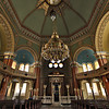 Central Synagogue of Sofia, Bulgaria is the second largest Sephardic synagogue in Europe