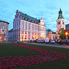 City Hall and Bell Tower of lovely Poznan, Poland