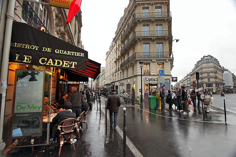 Street Scene in Paris, France