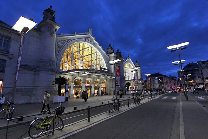 Train Station in Tours, France