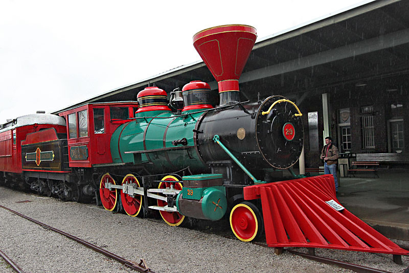 Famous Chattanooga Choo-Choo is now a hotel and restaurant