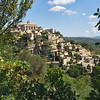 The perched village of Gordes, one of the most beautiful hilltop villages in Provence, France