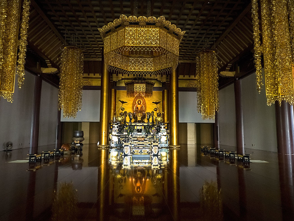 Main Hall at Zojoji Temple complex in Tokyo, Japan