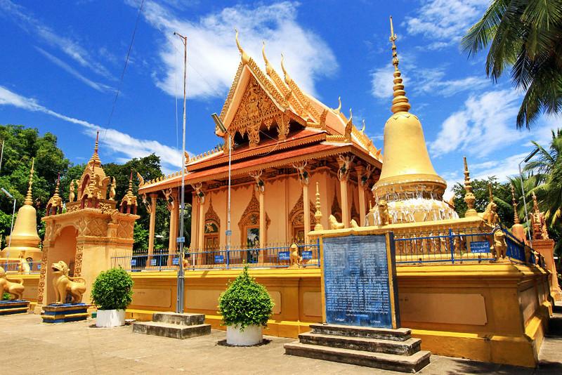 Peapheng Pagoda in Battambang, Cambodia