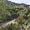On the island of Sicily, Italy, lies the Alcantara Gorge, created when an ancient eruption of Mount Etna crossed the icy waters of the Alcantara River.