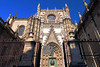 Cathedral in Seville, Spain is the largest Gothic cathedral in the world