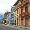 Cobblestone streets and lovely old houses in Old Town of Cuenca, a UNESCO World Heritage Site