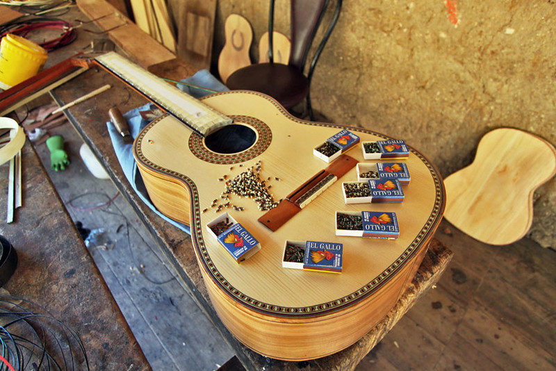 Musicians from all over the world come to San Batolome to buy handmade guitars