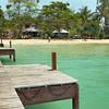 Main dock on Koh Mak island, Thailand