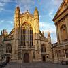 Bath Abbey, an Anglican church and former Benedictine monastery in Bath, England